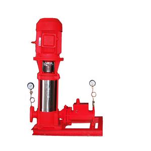 稳压缓冲多级立式消防泵组成峰