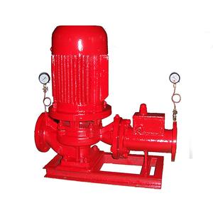 稳压缓冲立式消防泵组成峰